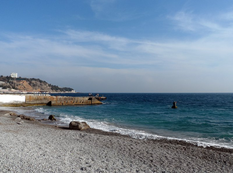 Лучшие пляжи Мисхора (Кореиза Крым: фото, отзывы, описания) 78