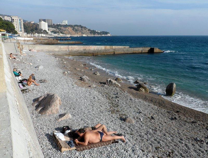 Лучшие пляжи Мисхора (Кореиза Крым: фото, отзывы, описания) 34